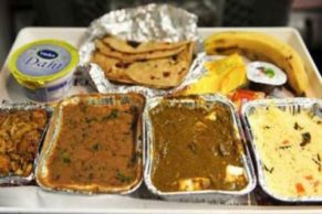 Procedure to order food from train