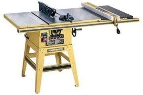 Powermatic 64a Table Saw 10-inch Left Tilt 1.5 Hp