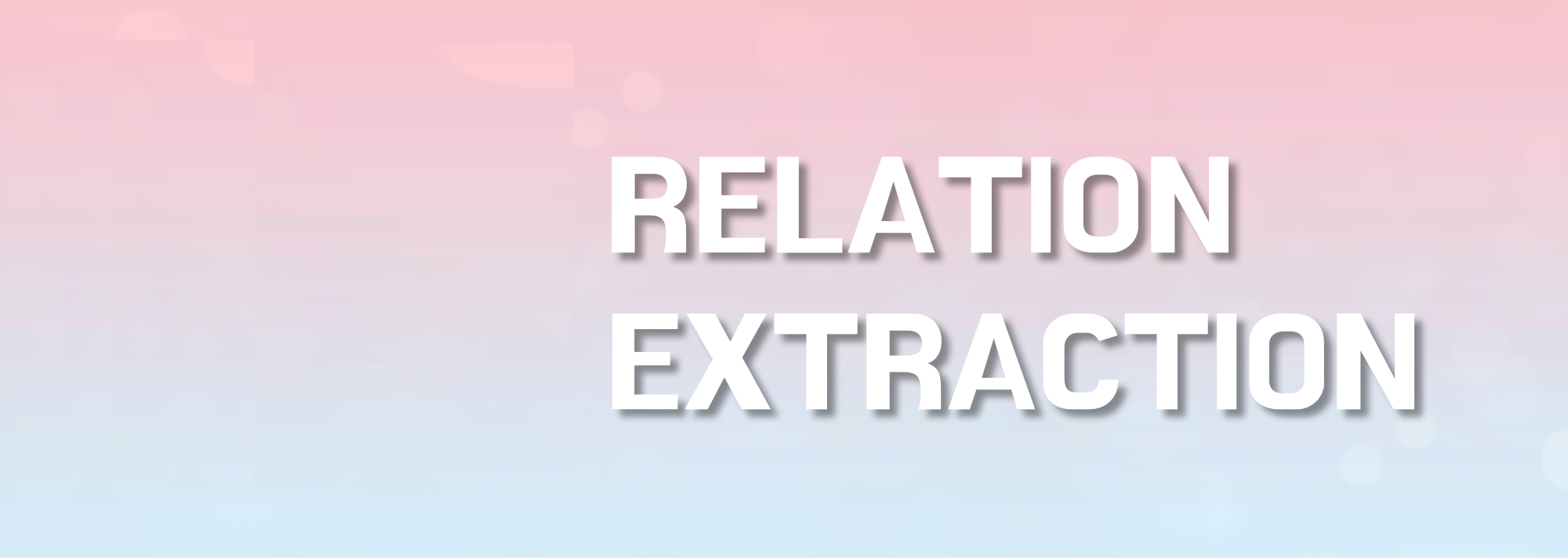 Relation Extraction Services