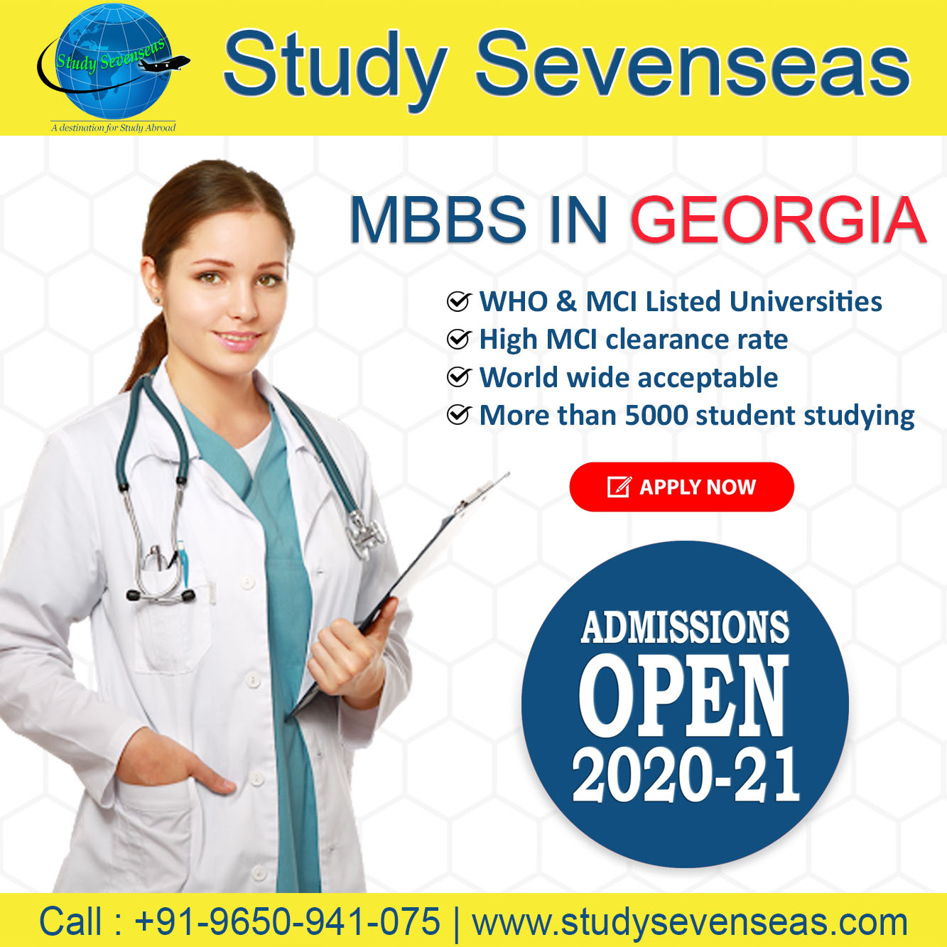 Study MBBS In Georgia Is Best Option for Indian Students