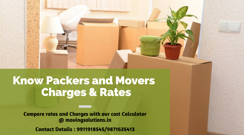 Packers & Movers Charges