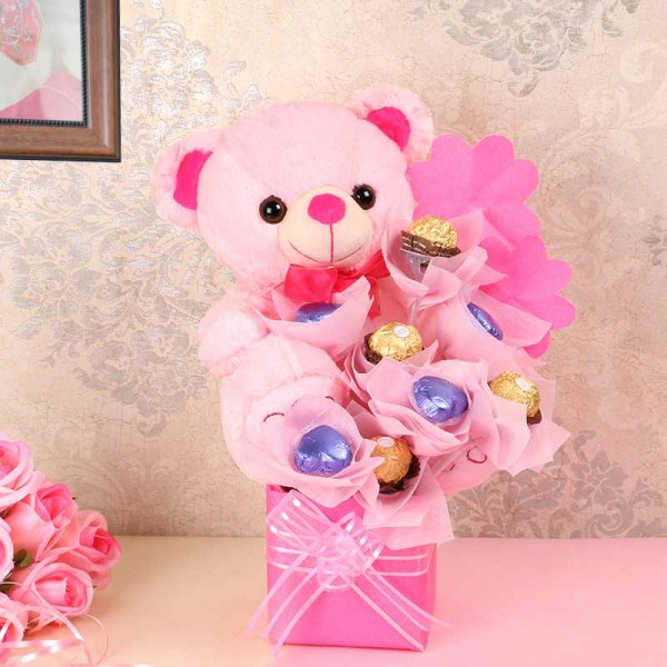 teddy bear for valentines day